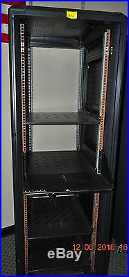 LOT of 4 36U Server Rack Cabinet Enclosures