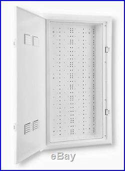 Leviton Network Rack Cabinet Structured Media Enclosure 30 in. Vented Door White