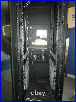 Liebert 42U Server Cabinet, Self Contained Rack Enclosure, Air Conditioned
