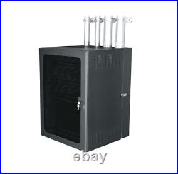 Middle Atlantic CableSafe Data Wall Mount Rack Cabinet CWR-18-32PD Enclosure