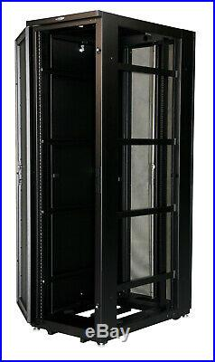 NEW 42U Rack Mount Freestanding Data Center Server Cabinet 19 Full Enclosure