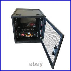 NEW GYLL ModRack Enclosure Cabinet HEAVY DUTY 19in Battery Rack Storage System