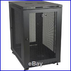 NEW Tripp Lite SR18UB SmartRack 18U Extra Depth Rack Enclosure Cabinet 33in Deep