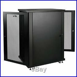 NEW Tripp Lite SR24UB SmartRack 24U Extra-Depth Rack Enclosure Cabinet 33in Deep