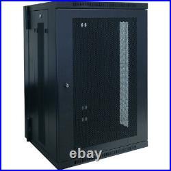 NEW Tripp Lite SRW18US Wall mount Rack Enclosure Server Cabinet SmartRack 18U