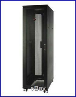 New APC Netshelter SV AR2400FP1 42U 19 Server Rack Cabinet Enclosure + Sides