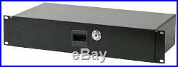 RACK DRAWER 2U 210MM Enclosures & 19 Cabinet Racks