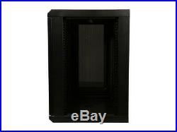 Rosewill RSWM-12U002 12U Wall Mount Rack Enclosure Server Cabinet, 16.5 Deep, S
