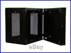 Rosewill RSWM-12U003 12U Wall Mount Rack Enclosure Server Cabinet, Hinged, 20.5
