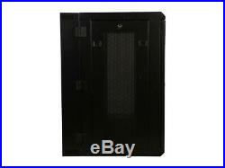 Rosewill RSWM-15U001 15U Wall Mount Rack Enclosure Server Cabinet, Hinged, 20.5