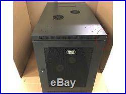SEE PICS! Tripp Lite SRW12US33 12U Wall Mount Rack Enclosure Server Cabinet 33