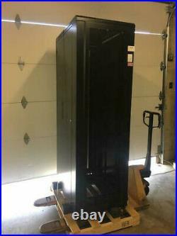 SEE PICTURES! Kendall Howard 3110-3-001-42 42U Server Rack Cabinet Enclosure