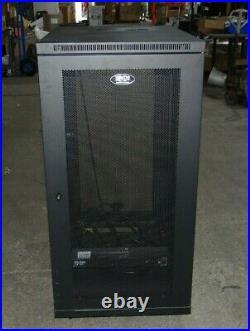 SR24UB SmartRack 24U Mid Size Server Rack Enclosure Cabinet by Tripp Lite