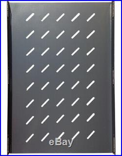 SYSRACKS 22U 39 Deep 19 Free Standing Server Rack Cabinet Enclosure Bonus