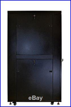 SYSRACKS 42U 35 Deep Free Standing Network Server Rack Cabinet Enclosure Box