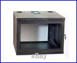 Server Rack 8U Network Security Wall Cabinet Enclosure Lockable WR-K10-3336-8E