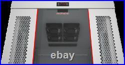 Server Rack Cabinet 42U 35Enclosure IT Network Data Light Grey