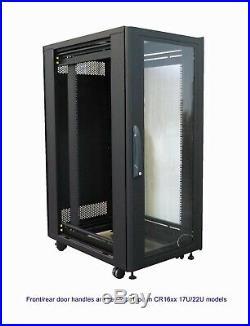 Server Rack Cabinet 47U 19, enclosure with 6 additional fans