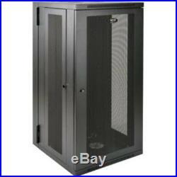 SmartRack 26U UPS-Depth Wall-Mount Rack Enclosure Cabinet, Hinged Back