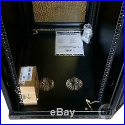 SmartRack SR24UB 24U Mid-Depth Rack Enclosure Cabinet by Tripp Lite NEW