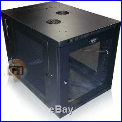 SmartRack SRW12US33G 12U Server-Depth Wall-Mount Rack Enclosure Cabinet