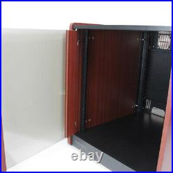 StarTech. Com 12U Rack Enclosure Server Cabinet 20.6 in. Deep Wood Finish F