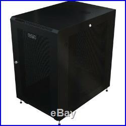 StarTech. Com Server Rack Cabinet 18U 31in Deep Enclosure Network Cabinet