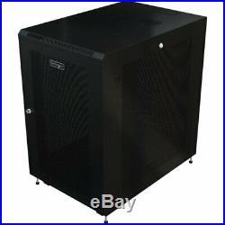 Startech. Com Rk1233bkm Server Rack Cabinet -31 In Deep Enclosure 12u