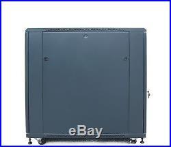 Sysracks 22U 39 Deep 19 IT Data Free Standing Server Rack Cabinet Enclosure
