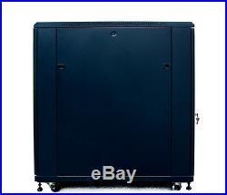 Sysracks 22U 39 Deep 19 IT Free Standing Data Server Rack Cabinet Enclosure