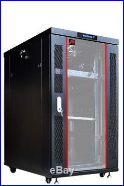 Sysracks 27U 32 Depth Server It Data Network Rack New Cabinet Enclosure Box