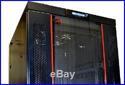 Sysracks 32U 35'' depth Free Standing Server Rack Cabinet It Enclosure Bonus
