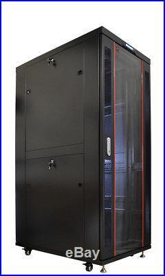 Sysracks 32U Sysracks IT Network Data Server Rack Cabinet Enclosure 39 Depth