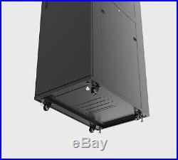 Sysracks 37U 39 Inch Deep IT Free Standing Server Network Rack Cabinet Enclosure
