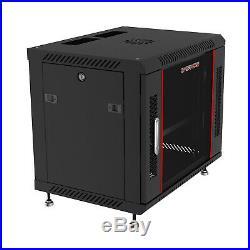 Sysracks 6U 24 Depth Wall Mount Network Server Cabinet Rack Lockable Enclosure