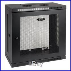 TRIPP LITE 12U Wall Mount Rack Enclosure Server Cabinet, 13 Patch-Depth SRW12