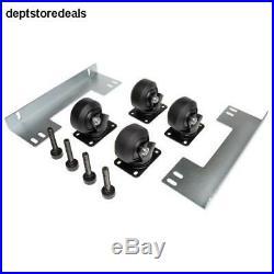 TRIPP LITE Rack Enclosure Cabinet Heavy Duty Mobile Rolling Caster Kit Rating