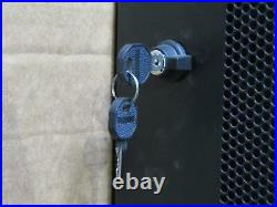 TrippLite SR24UB SmartRack 24U Mid-Depth Rack Enclosure Cabinet with keys
