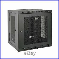 Tripp Lite 10U Wall Mount Rack Enclosure Server Cabinet, Hinged, 20.5 Deep