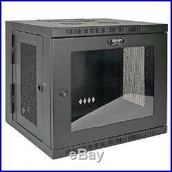 Tripp Lite 10U Wall Mount Rack Enclosure Server Cabinet with Acrylic Glass Wi