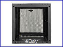 Tripp Lite 12U Wall-Mount Rack Enclosure Cabinet, Low-Profile Switch-Depth SRW1