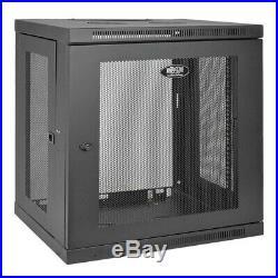 Tripp Lite 12U Wall Mount Rack Enclosure Server Cabinet, 16.5 Deep