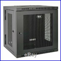 Tripp Lite 12U Wall Mount Rack Enclosure Server Cabinet Hinged 20.5 Deep Swi