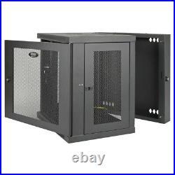 Tripp Lite 12U Wall Mount Rack Enclosure Server Cabinet Hinged with Doors & Side