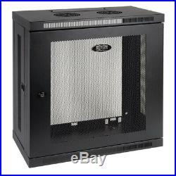 Tripp Lite 12U Wall-Mount Server Rack Enclosure Cabinet, Low Profile and Patch-D