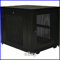 Tripp Lite 12u Rack Enclosure Server Cabinet Doors & Sides 300lb Capacity Sr12ub