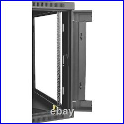 Tripp Lite 12u Wall Mount Rack Enclosure Server Cabinet Hinged 33 Depth W