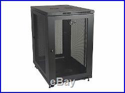 Tripp Lite 18U Rack Enclosure Server Cabinet 33-inch Deep with Doors & Sides rack