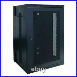 Tripp Lite 18U SmartRack Low-Profile Wall-Mount Rack Enclosure Cabinet