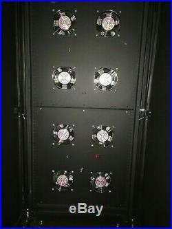 Tripp Lite 24U Industrial Rack Floor Enclosure Server Cabinet SR24UBFFD READ